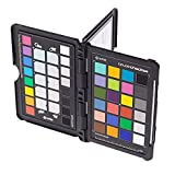 X-Rite ColorChecker Passport (MSCCPP) - Carta de calibración fotográfica de color, negro