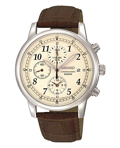 Seiko Designer Analog White Dial Men's Watch - SNDC31P1