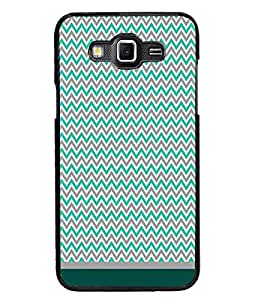 PrintDhaba Zig Zag Pattern D-1687 Back Case Cover for SAMSUNG GALAXY GRAND MAX (Multi-Coloured)