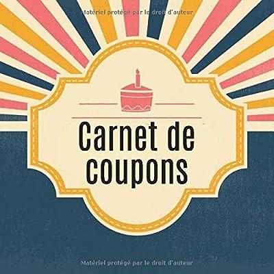 Carnet de coupons: Livret de coupons à remplir vous-même - avec 10 modèles de coupons prédéfinis - le cadeau parfait