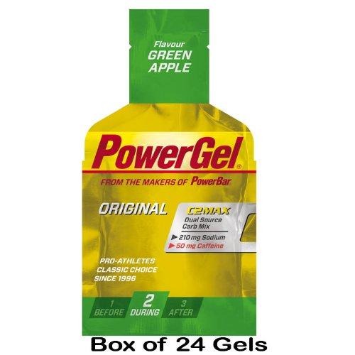 PowerBar - PowerGel Box 24 Stück Green Apple