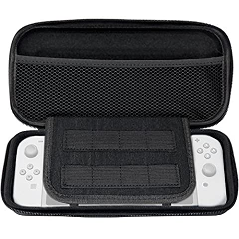 Act Carry Case for Nintendo Switch BLACK Protective Hard Portable Travel Carry Case Shell Pouch for Nintendo Switch Console & Accessories