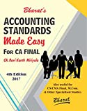 Bharat's Accounting Standards Made Easy for CA Final Nov. 2017 Exam by CA. Ravi Kanth Miriyala