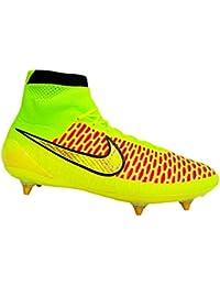 Leather Magista Giallo Orden Nike Amazon shoes Pelle Fg 7gyvYbf6