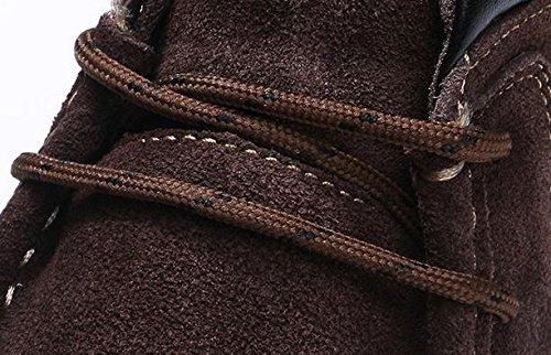 Bottes fourr¨¦es pour les hommes en hiver pour aider ¨¤ la peluche dans les chaussons antid¨¦rapants imperm¨¦ables ¨¤ leau 41
