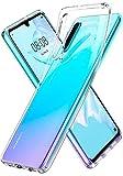 Spigen [Liquid Crystal] Case for Huawei P30, Crystal Clear