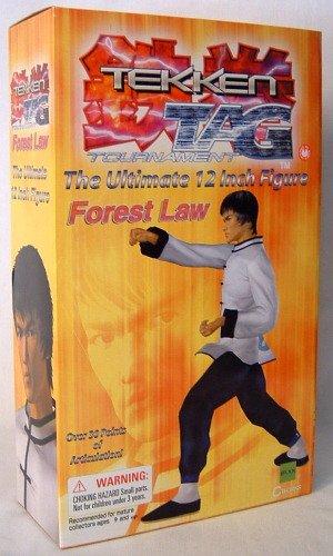 "Tekken Tag Tournament 12"" Figure Forest Law 2"