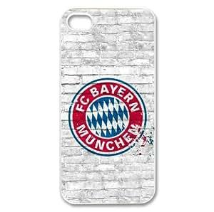 iphone accessoires iphone 5 coque housse dure FC Bayern Munich logo étiquette