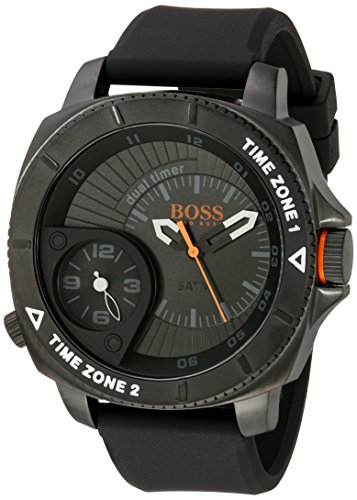 Boss Orange montre homme Sao Paulo Dual Time 50 mm 1513213
