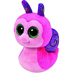 TY - Beanie Boos Scooter, caracol, 15 cm, color rosa (United Labels Ibérica 37199TY)