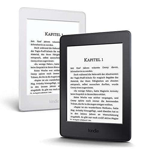 Kindle Paperwhite (Vorgängermodell – 7.Generation) 6Zoll (15cm) großes Display, integrierte Beleuchtung, WLAN, Schwarz