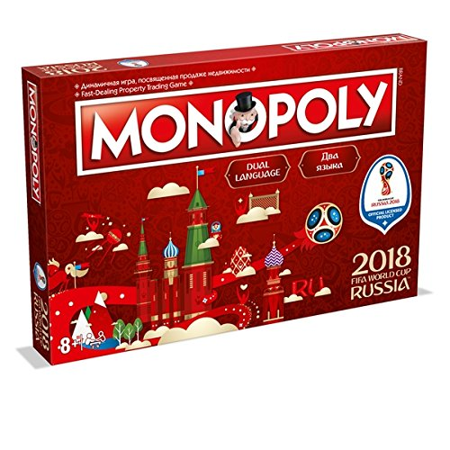 Winning Moves FIFA World Cup Russland 2018Monopoly