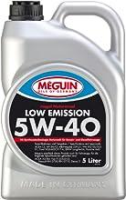 Meguin 6574 del aceite del motor Megol Baja SAE 5W-40 Emisiones, 5 litros