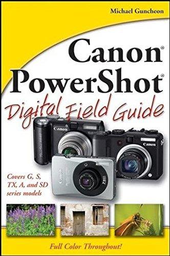 Canon PowerShot Digital Field Guide by Michael Guncheon (2007-12-28)