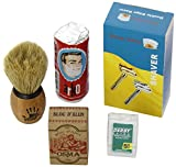 Best Barber Clippers - Shaving Factory Kit Complet de Rasage avec Lames Review
