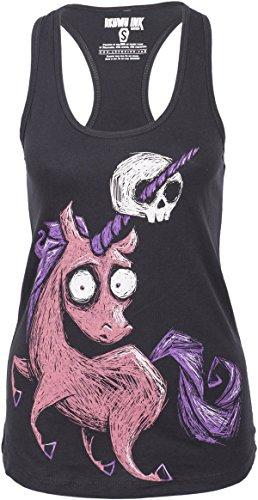 Akumu Ink Damen Oberteil A Deadly Myth Shirt Schwarz 2XL
