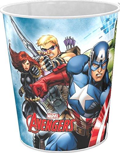 Abfalleimer aus Kunststoff, Papierkorb, Avengers, Captain America, ()