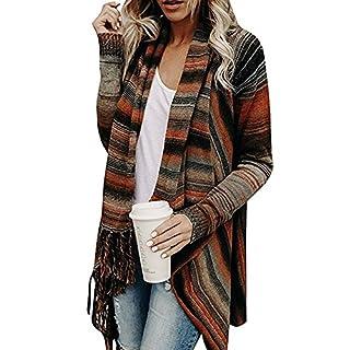 Juleya Mantel Damen Poncho Cape - Frauen Elegant Strickjacke mit Rollkragen Pullover unregelmäßig Cardigan Pulli Sweater Top Herbst Winter Strickpullover Gestrickt Umhang