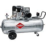 Airpress® ölgeschmierter Druckluft-Kompressor GK 600-200 (3 kW, 10 bar,200l Kessel, 400 Volt) großer Kolben-Kompressor