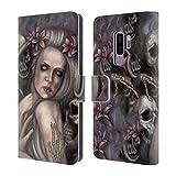 Head Case Designs Offizielle Tiffany Tito Toland-Scott Danse Macabre Dark Gothic Fantasy Brieftasche Handyhülle aus Led