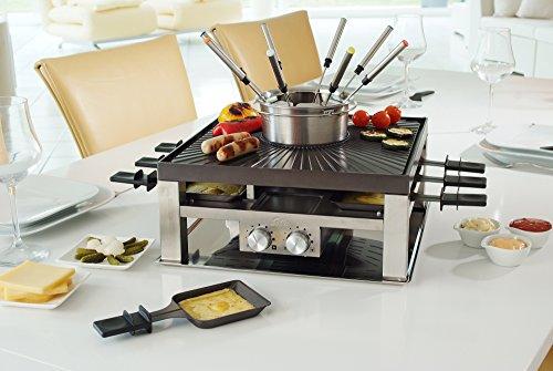 Solis Raclette, Tischgrill und/ oder Fleischfondue - 5