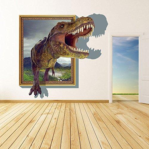 dinosaures-3d-autocollants-pvc-peinture-decorative-sticker-murale-yuxin