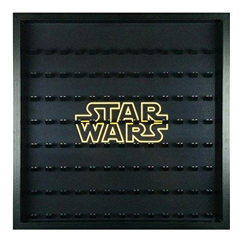 LEGO Minifigur Display Rahmen passt Star Wars großer Speicher Fall 104Minifigs (Lego Star Wars-speicher)