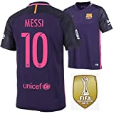 Trikot Herren Nike FC Barcelona 2016-2017 Away WC Badge (Messi 10, L)