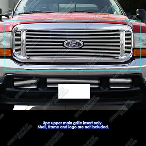 APS Polished Chrome Billet Grille Grill Insert #F65707A by