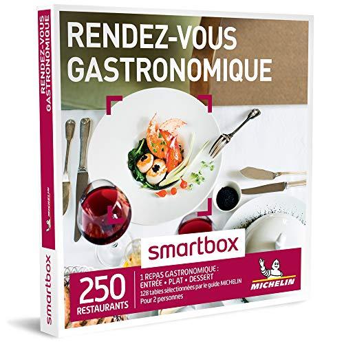SMARTBOX - Coffret Cadeau - RENDEZ-VOUS GASTRONOMIQUE - 250 restaurants avec 132...