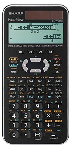 Sharp Schulrechner EL-W506 X SL wissenschaftlich silber