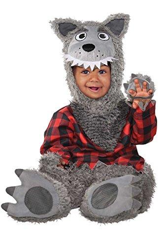 Baby Wolf Kostüm - Baby Wolf, 0-6 (Wolf Kostüme Baby)
