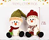 Igemy Puppe Weihnachten Stil Schneemann Hut Angefülltes Plüsch Spielzeug Entwicklungsspielzeug (A) Vergleich