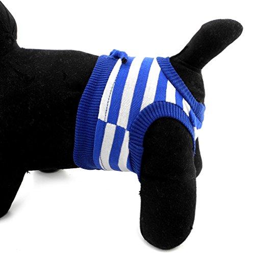ranphy Kleiner Hund/Katze waschbar Windeln Hose wiederverwendbar Windeln Packungen weiblich männlich Puppy Unterwäsche Panty -