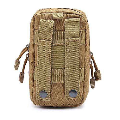 Reefa Outdoor Sport taktische Tarnung Multifunktions Ausrüstungs handlich Tasche Schlamm Farbe