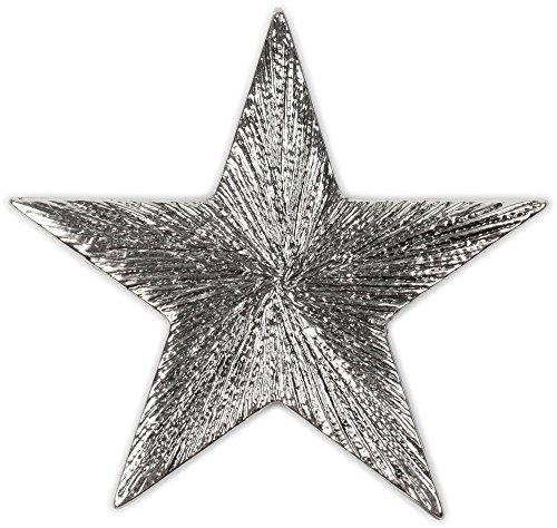 styleBREAKER Stern Design Magnet Schmuck Anhänger für Schals, Tücher oder Ponchos, Brosche, Damen 05050028, Silber, Einheitsgröße