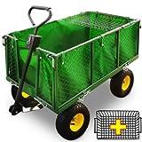 Deuba Transportwagen 550 kg - Gartenkarre Bollerwagen Gartenwagen Handwagen Transportkarre Gerätewagen