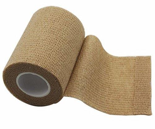 latexfrei reißbar Haftbandage in Fleisch/haut, hergestellt in Spanien, die höchste Qualität, alle 4,5m in Länge mit drei breiten erhältlich, mit 15einzeln verpackt Rollen in einer Spenderkarton
