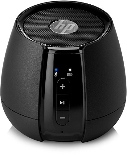 HP Altavoz S6500 Inalámbrico - Altavoces portátiles de Color Negro (Integrado, Inalámbrico...