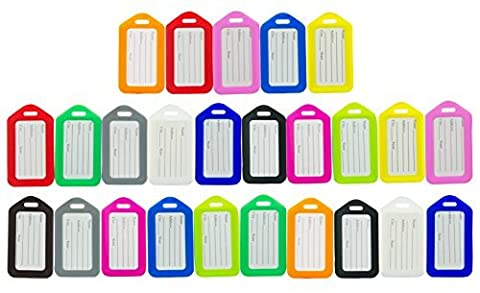 Premium Luggage Tags by One Planet (25