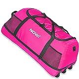 NOWI XXL 3-Rollen Reisetasche 100-135 Liter Volumen Rollenreisetasche...