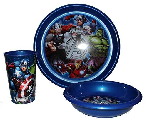 Set petit déjeuner Marvel Avengers–3pièces enfants