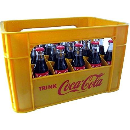 24 x Coca Cola Classic 0 2L original case glass bottle