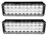 Aerzetix 38009461692602Herde Leuchtturm 30LED 12V zusätzlichen Permanent oder Blinklicht Licht, Weiß
