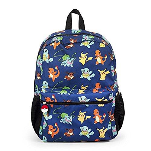 Rucksack - Pokemon - Pikachu w/Friends All-Over 40,6 cm Schultasche 857025