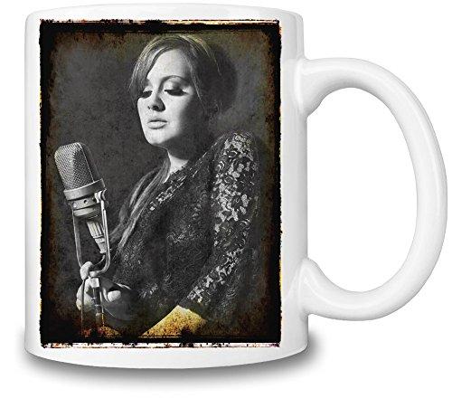 Adele Photo Portrait Mug Cup
