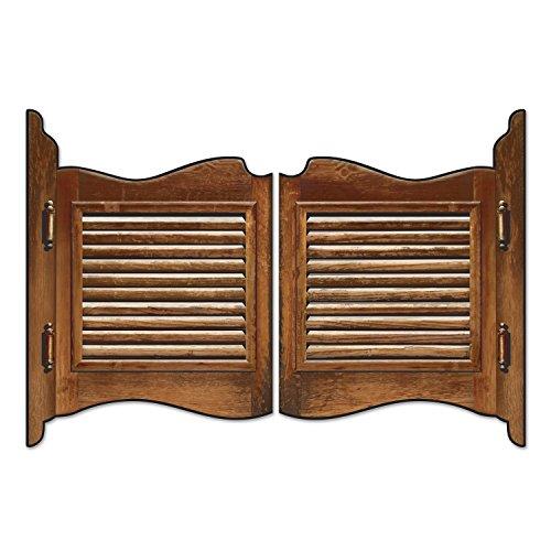 """Preisvergleich Produktbild Western-Wanddeko """"Saloon-Schwingtür"""" 46 x 62 cm 2-tlg."""
