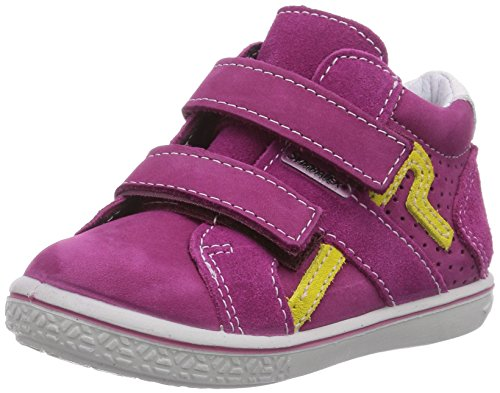 Ricosta Laif Mädchen Hohe Sneakers Pink (pop 327)