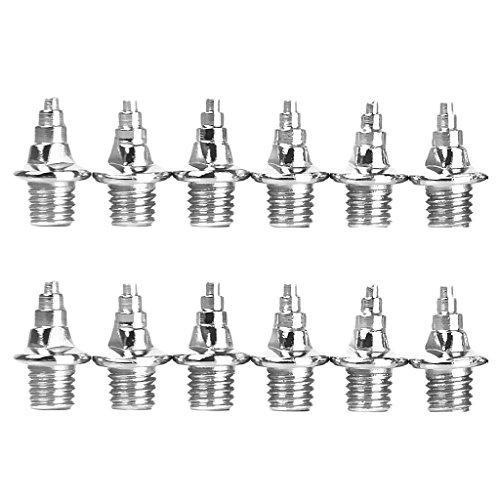 12pz 8 mm Footful Forma di Tower Scarpe Di Ricambio Spikes Per Gli Sport Pattini Correnti Della Pista Formatori