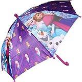 Leuke Disney Frozen paraplu met de opdruk van Anna. Elsa en Olaf. Product informatie: - Diameter: 65cm. - Lengte: ± 56cm. - Materiaal Panelen: 100% polyester - Materiaal Frame: 75% metaal / 25% plastic